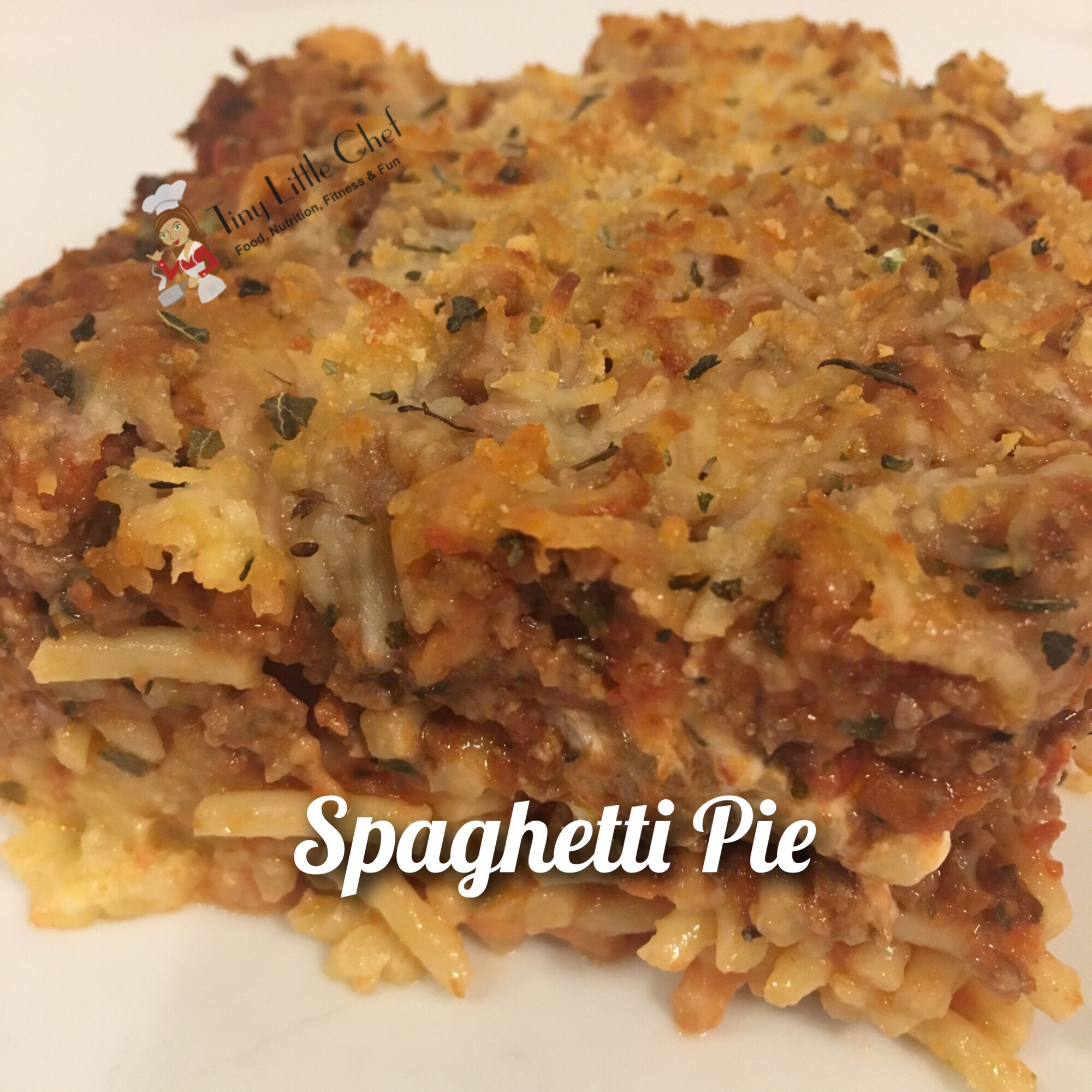 Tiny Little Chef Spaghetti Pies