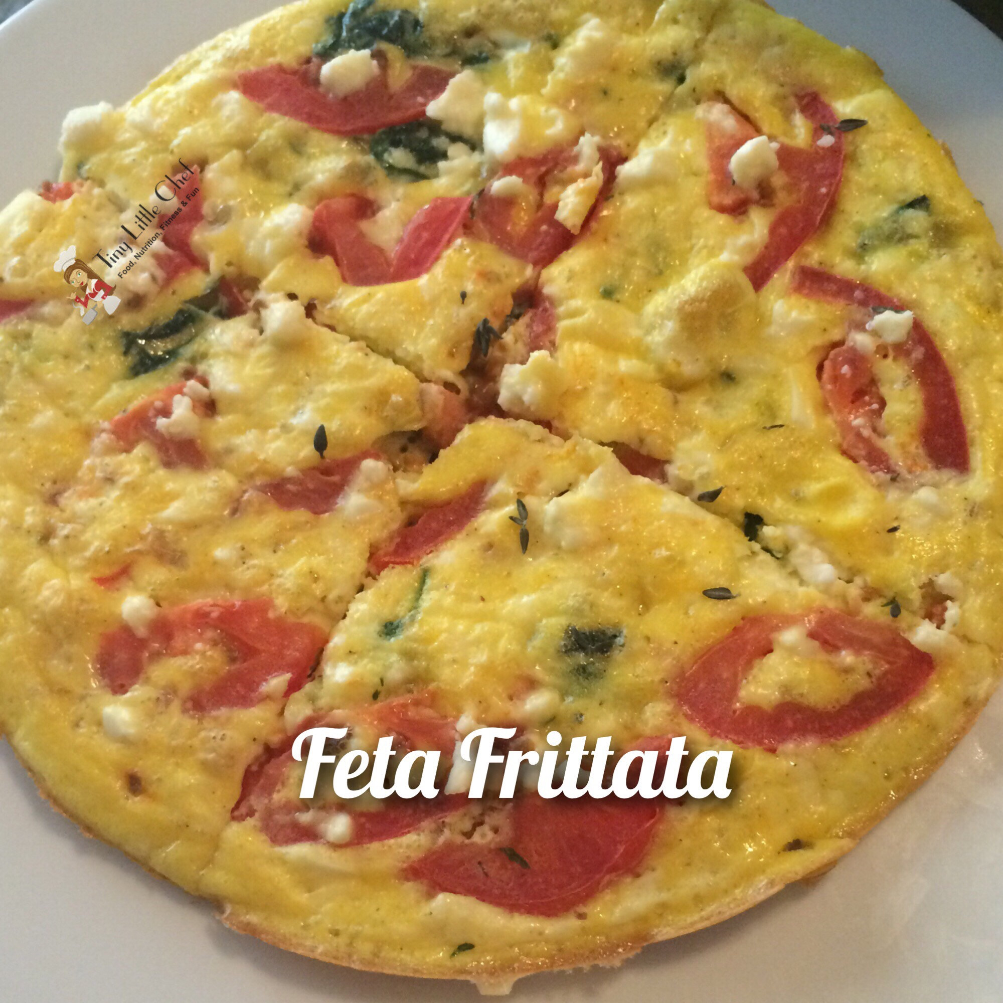 Tiny Little Chef Feta Frittata