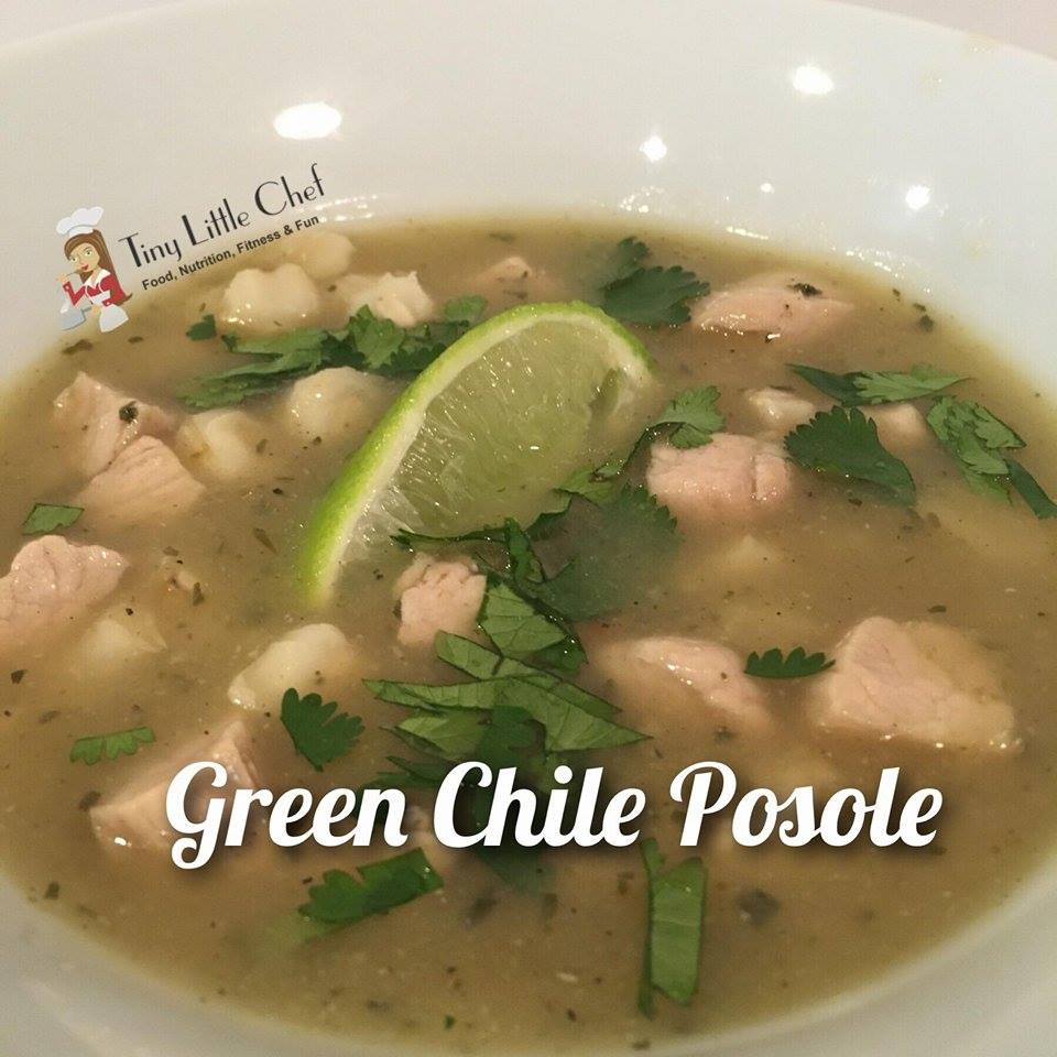 Tiny Little Chef Green Chile Posole