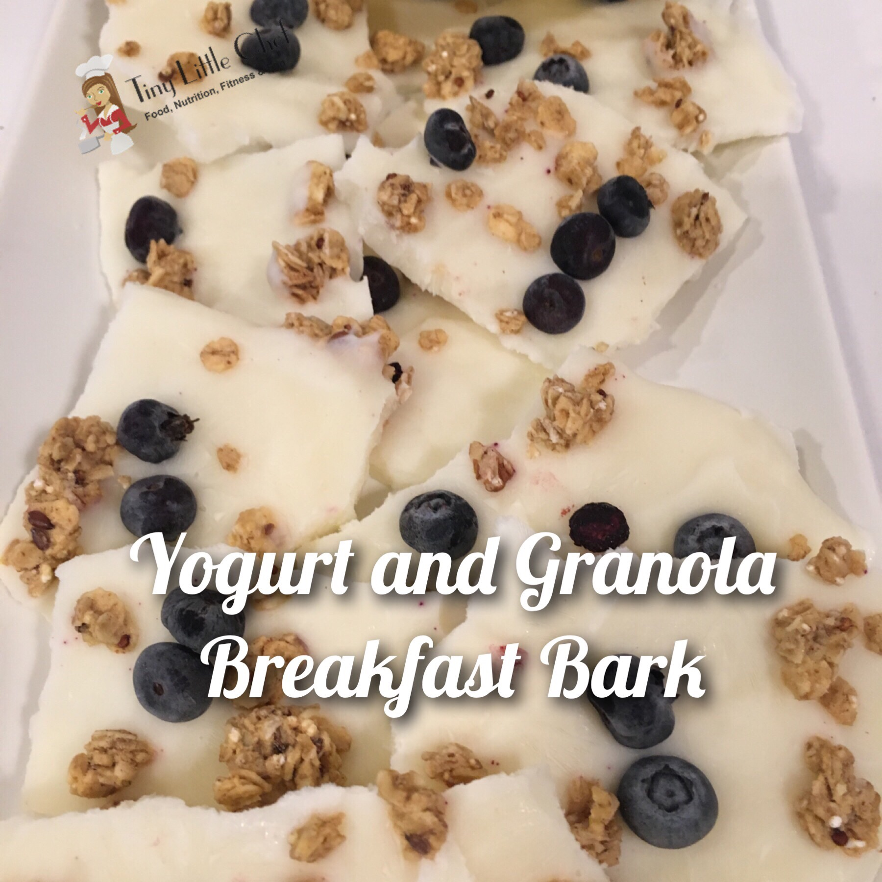Tiny Little Chef Yogurt and Granola Breakfast Bark