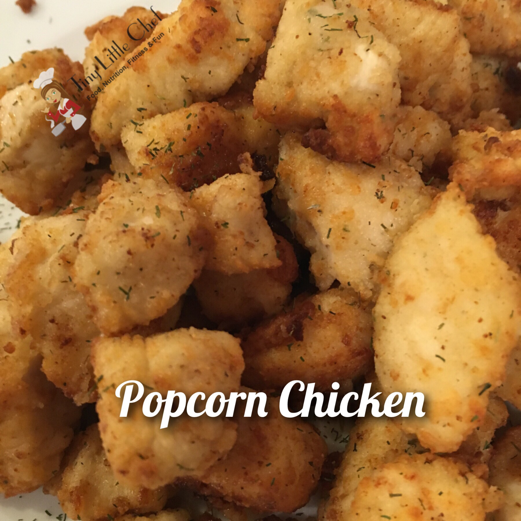 Tiny Little Chef Popcorn Chicken