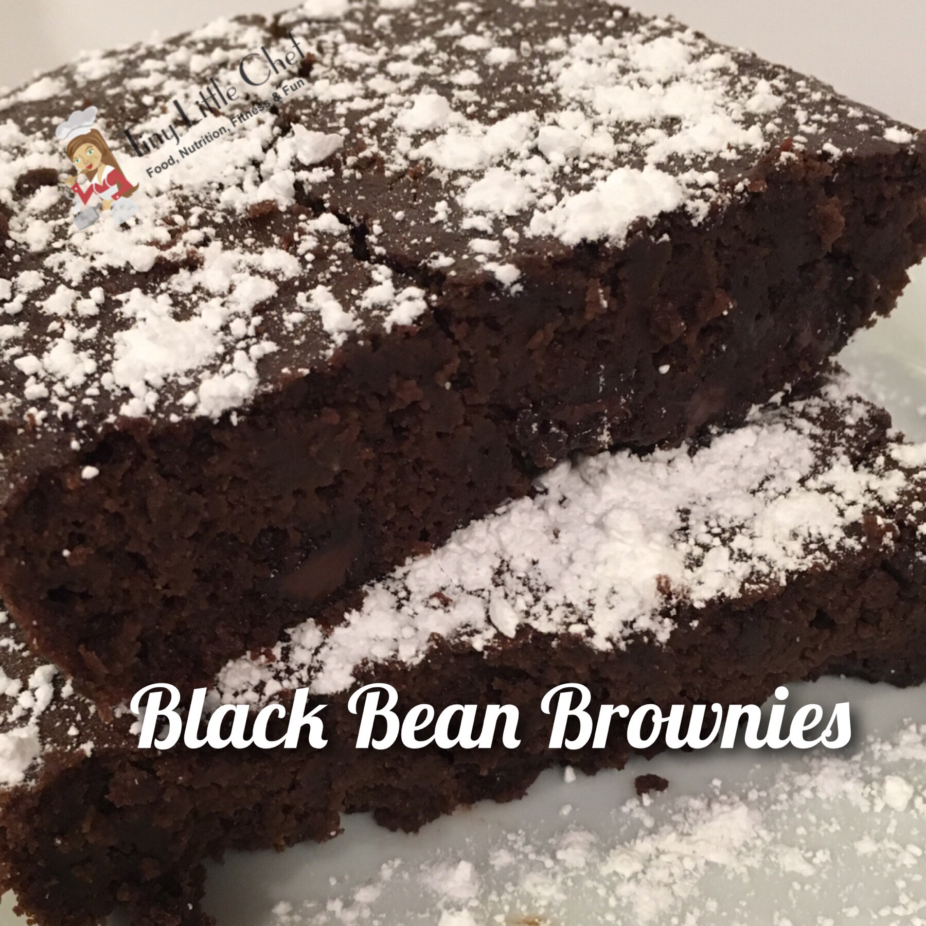 Tiny Little Chef Black Bean Brownies