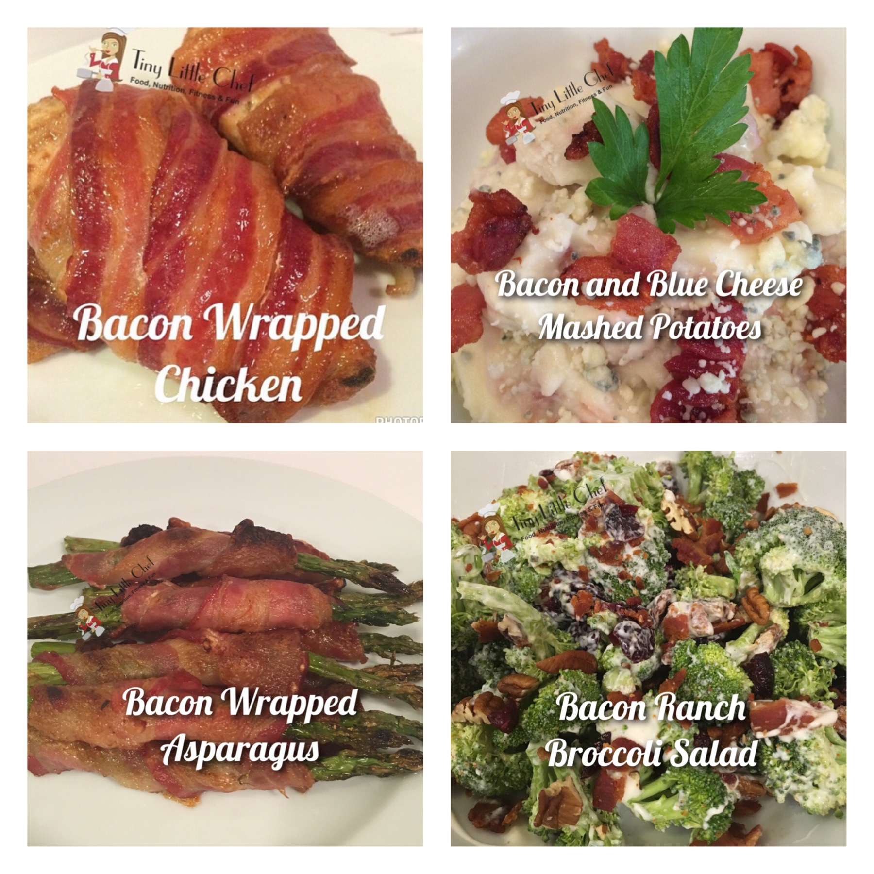 Bacon Lovers Collage