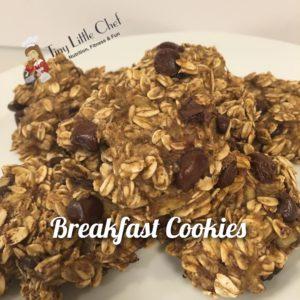 Tiny Little Chef Breakfast Cookies